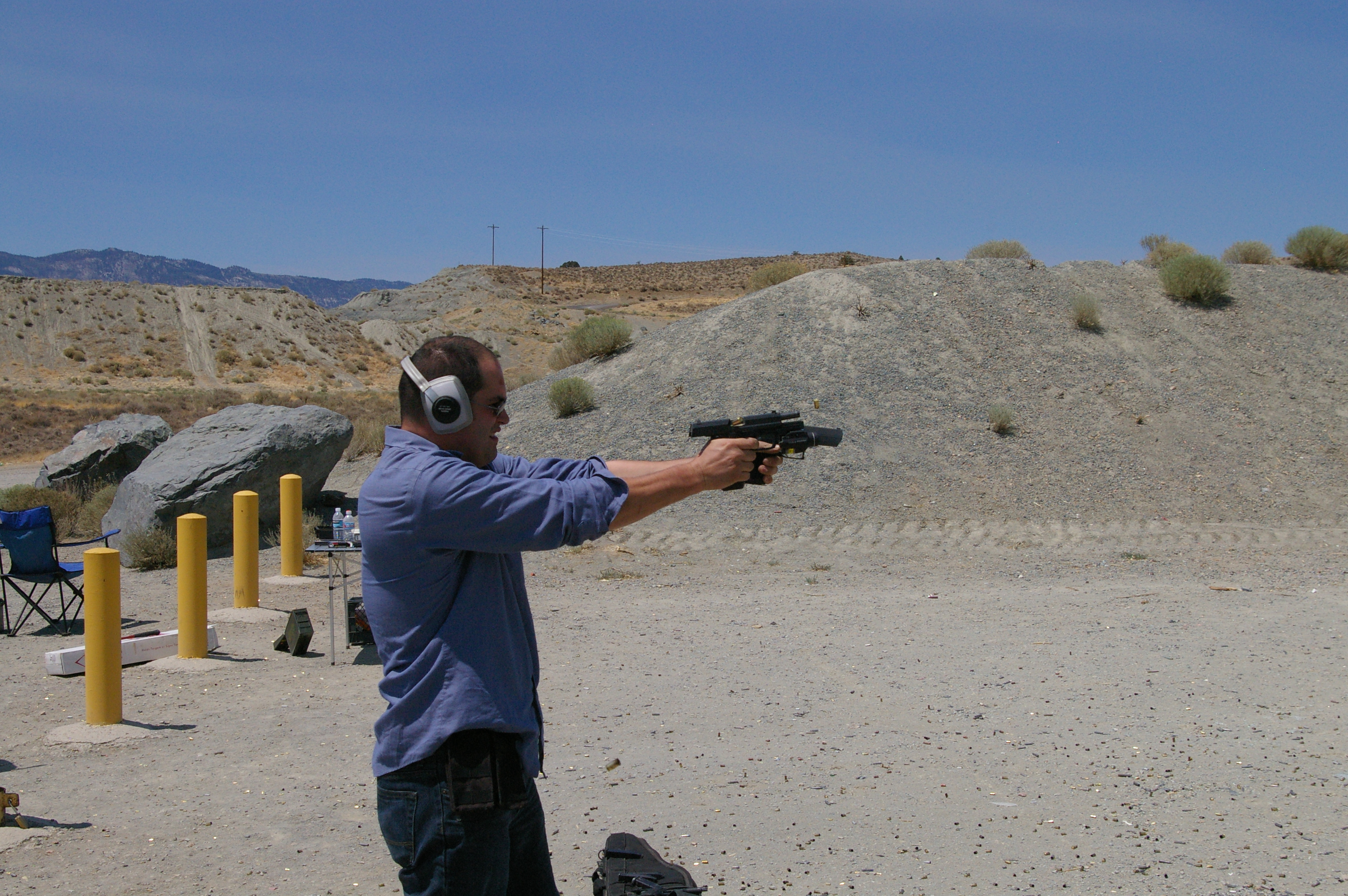 pistol on rent